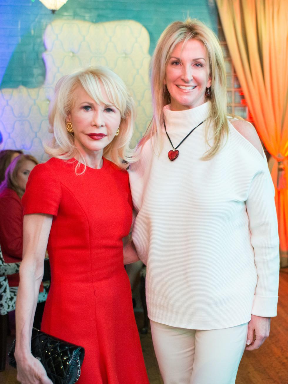 Houston Sweethearts, Feb. 2016, Diane Lokey Farb, Kim Moody
