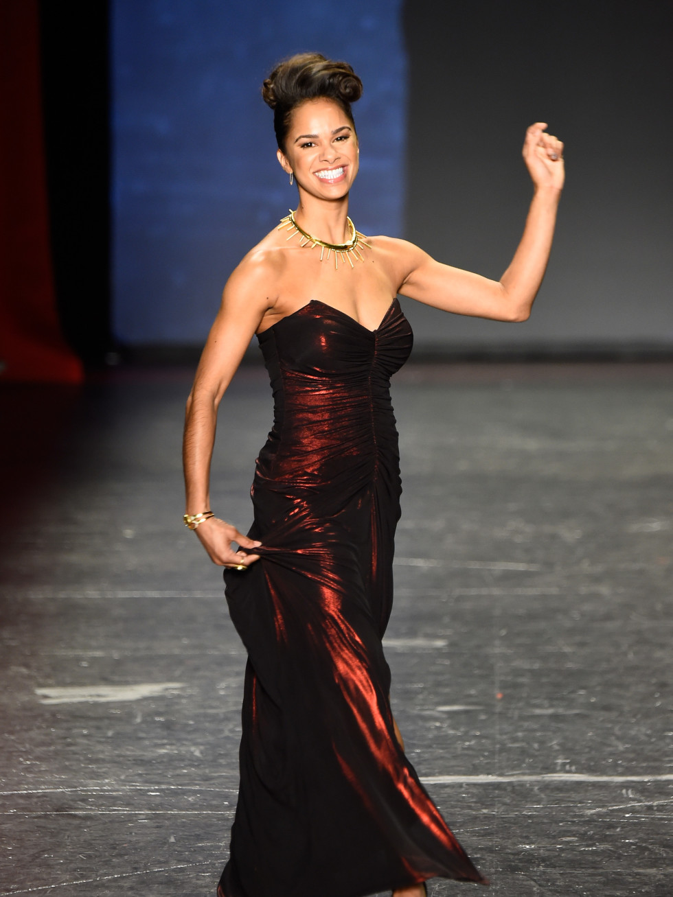 Misty Copeland at American Heart Association Go Red For Women Red Dress Collection 2016