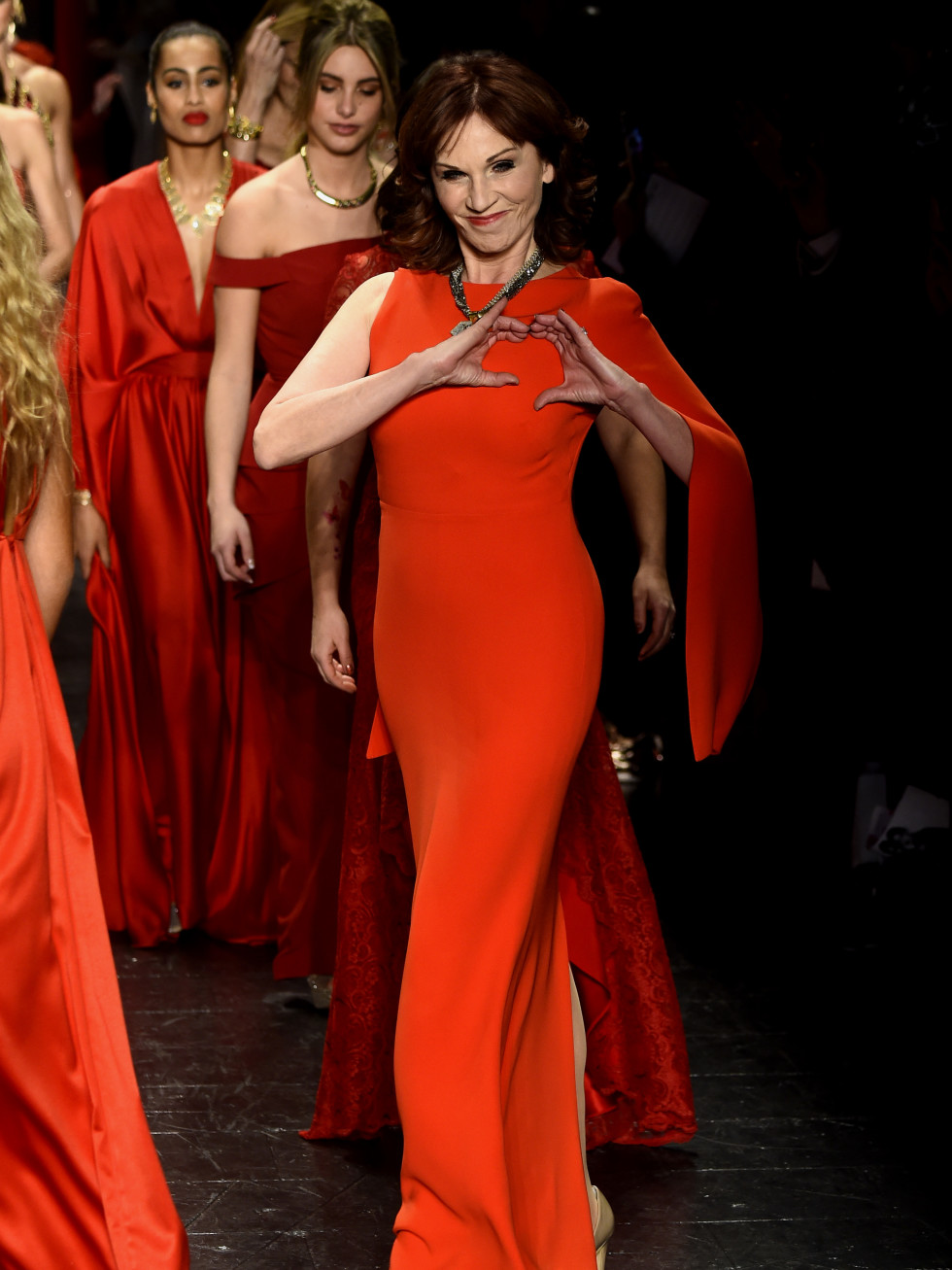 Marilu Henner American Heart Association Go Red For Women Red Dress Collection