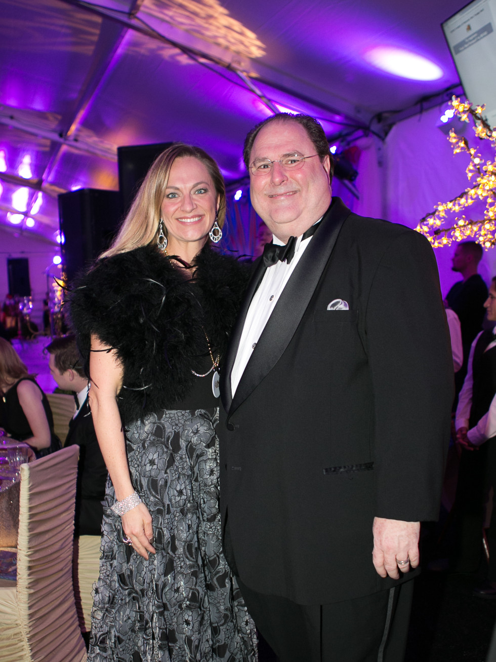 Junior League Gala, Feb. 2016, Rachel Regan, John Onstott