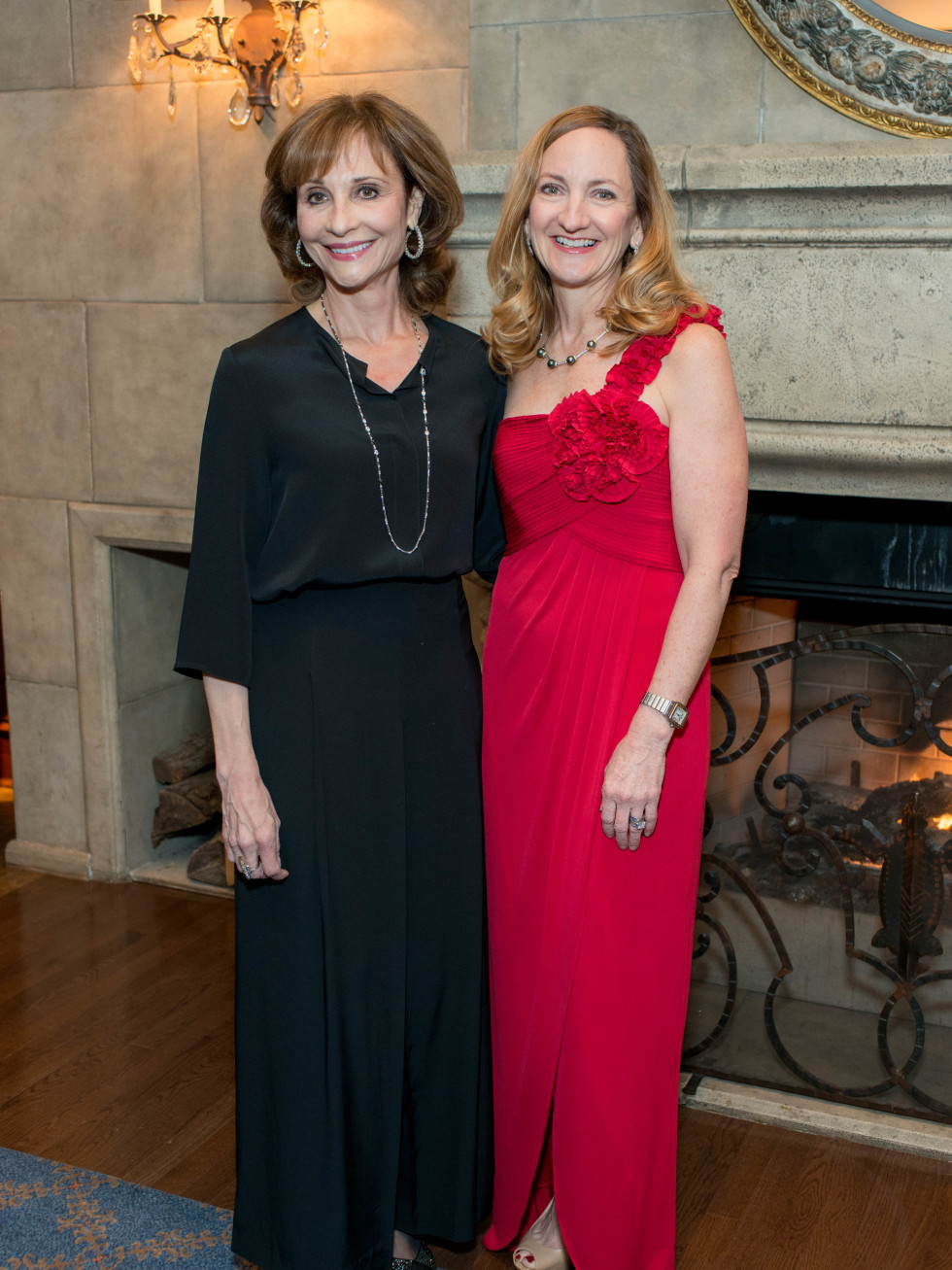 Consuelo Duroc Danner and Christina Bryan at Inprint Gala