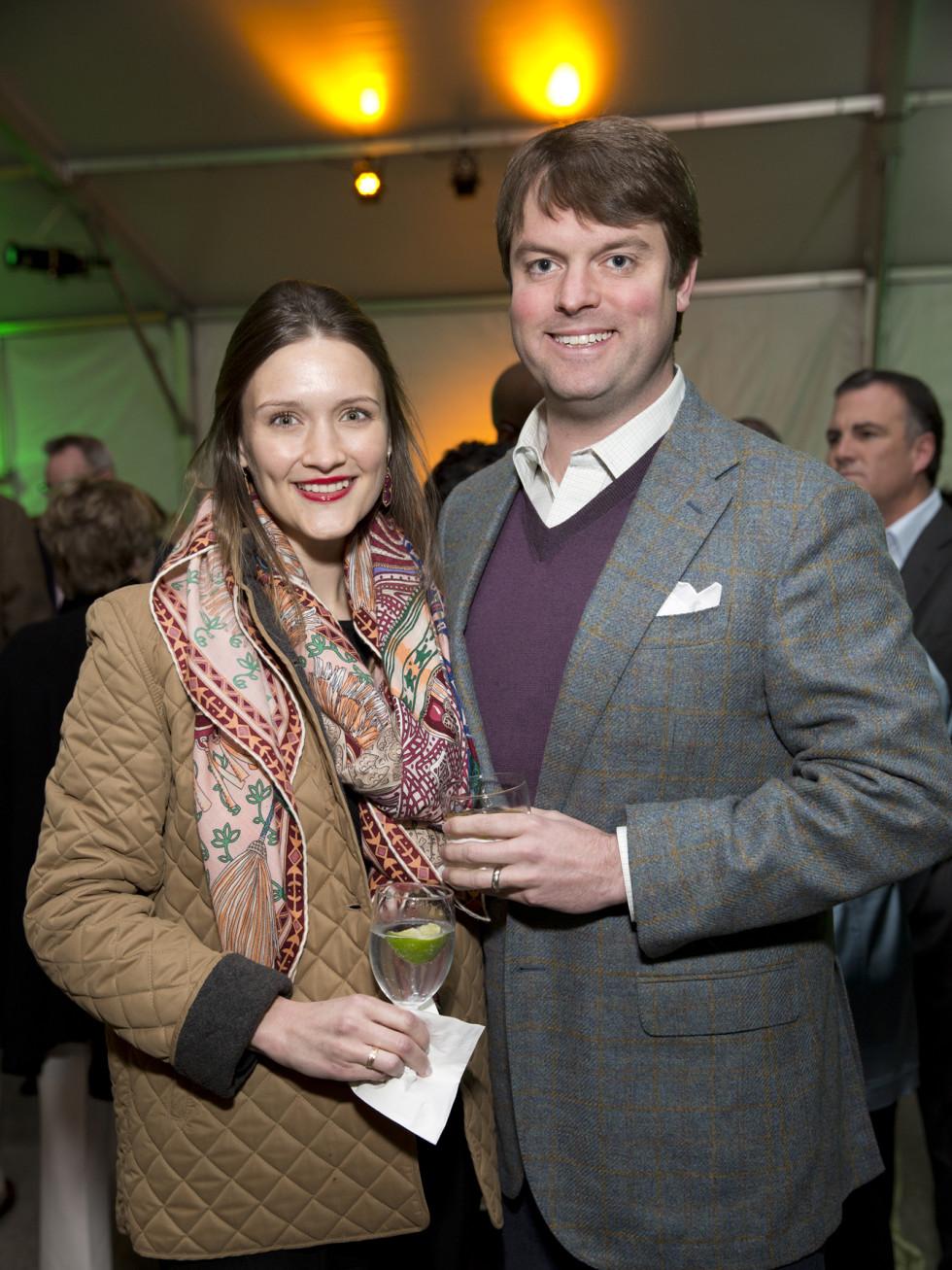 Memorial Park Conservacy Gala, Feb. 2016, Annie Eifler, Campbell Eifler