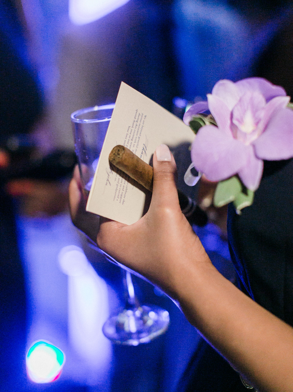 Wonderful Weddings, Kendhal Gardner, Feb. 2016, cocktails & cigars