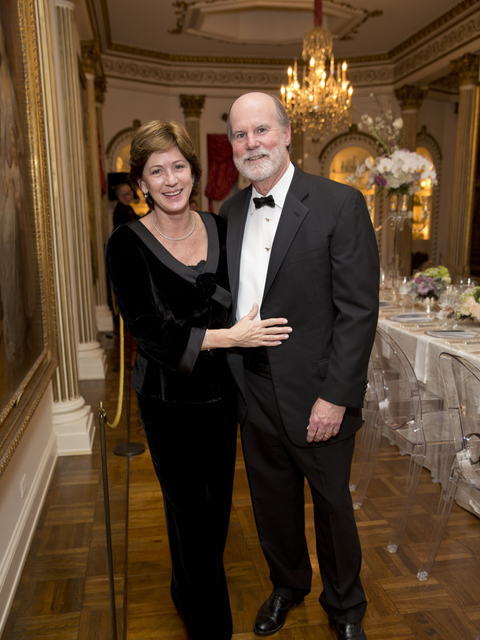 Rienzi society dinner, Feb. 2016, Stephanie Tucker, Brad Tucker