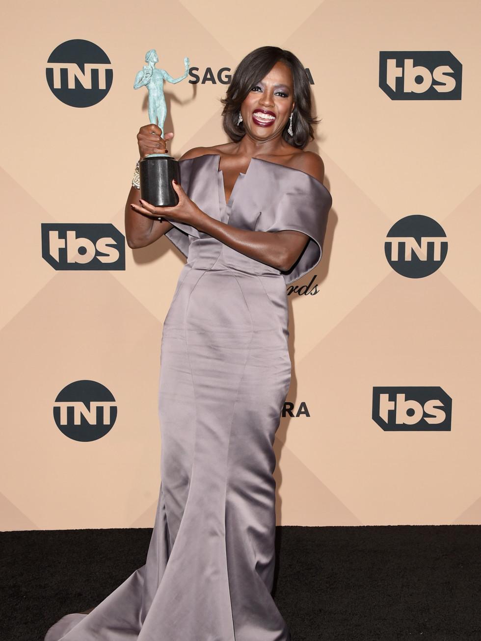 Viola Davis at Screen Actors Guild Awards
