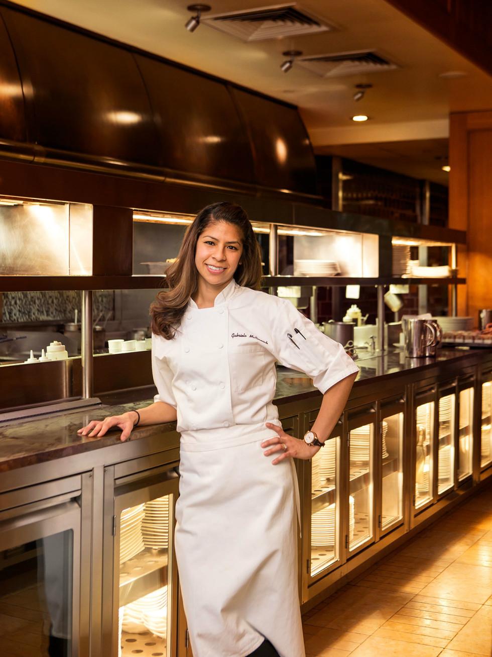 Chef Gabriela McCormick of Fearing's restaurant in Dallas