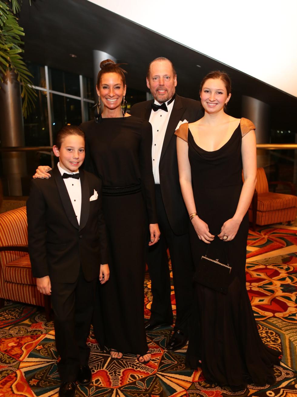 Winter Ball, Jan. 2016 Hudson, Lisa, Michael, Pia Holthouse
