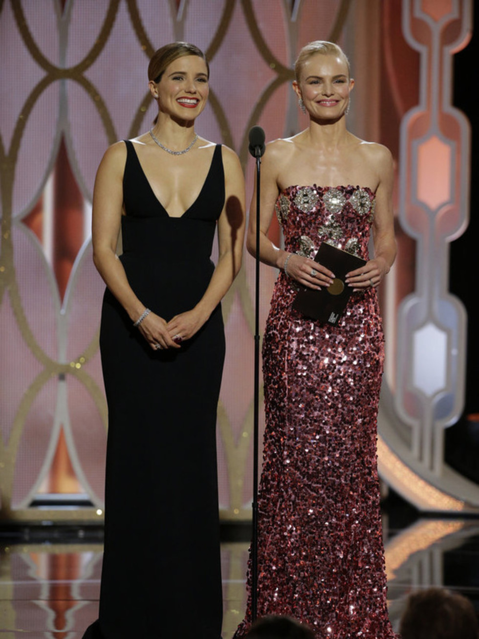 Sophia Bush and Kate Bosworth at Golden Globe Awards