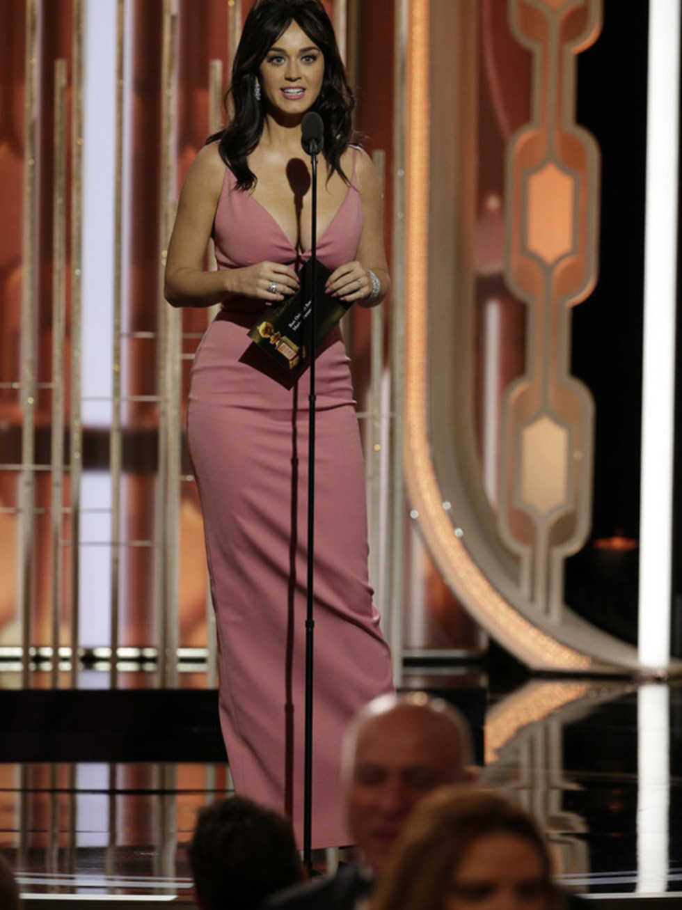 Katy Perry at Golden Globe Awards