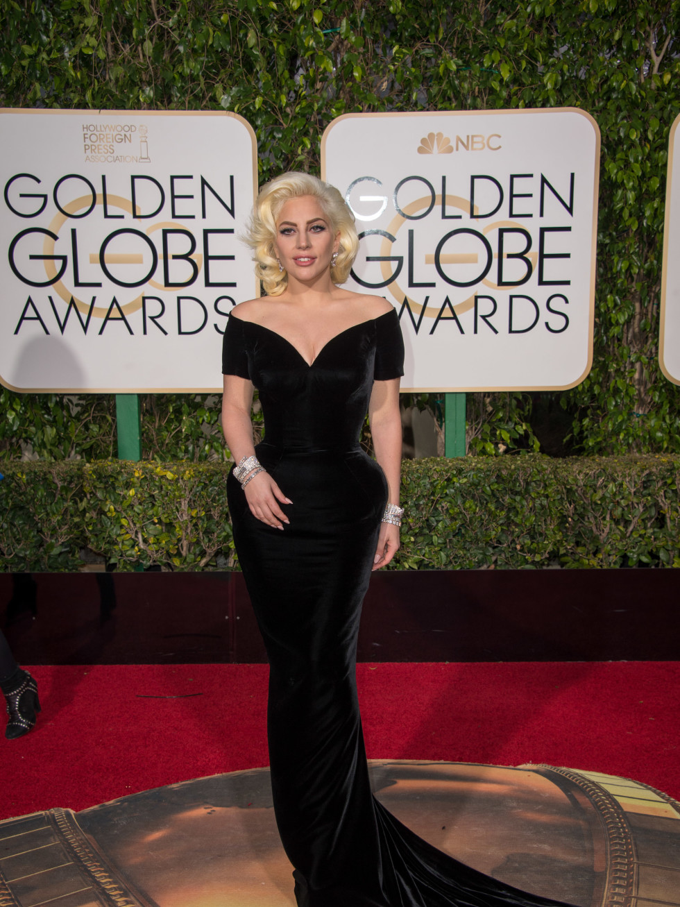Lady Gaga at Golden Globe Awards