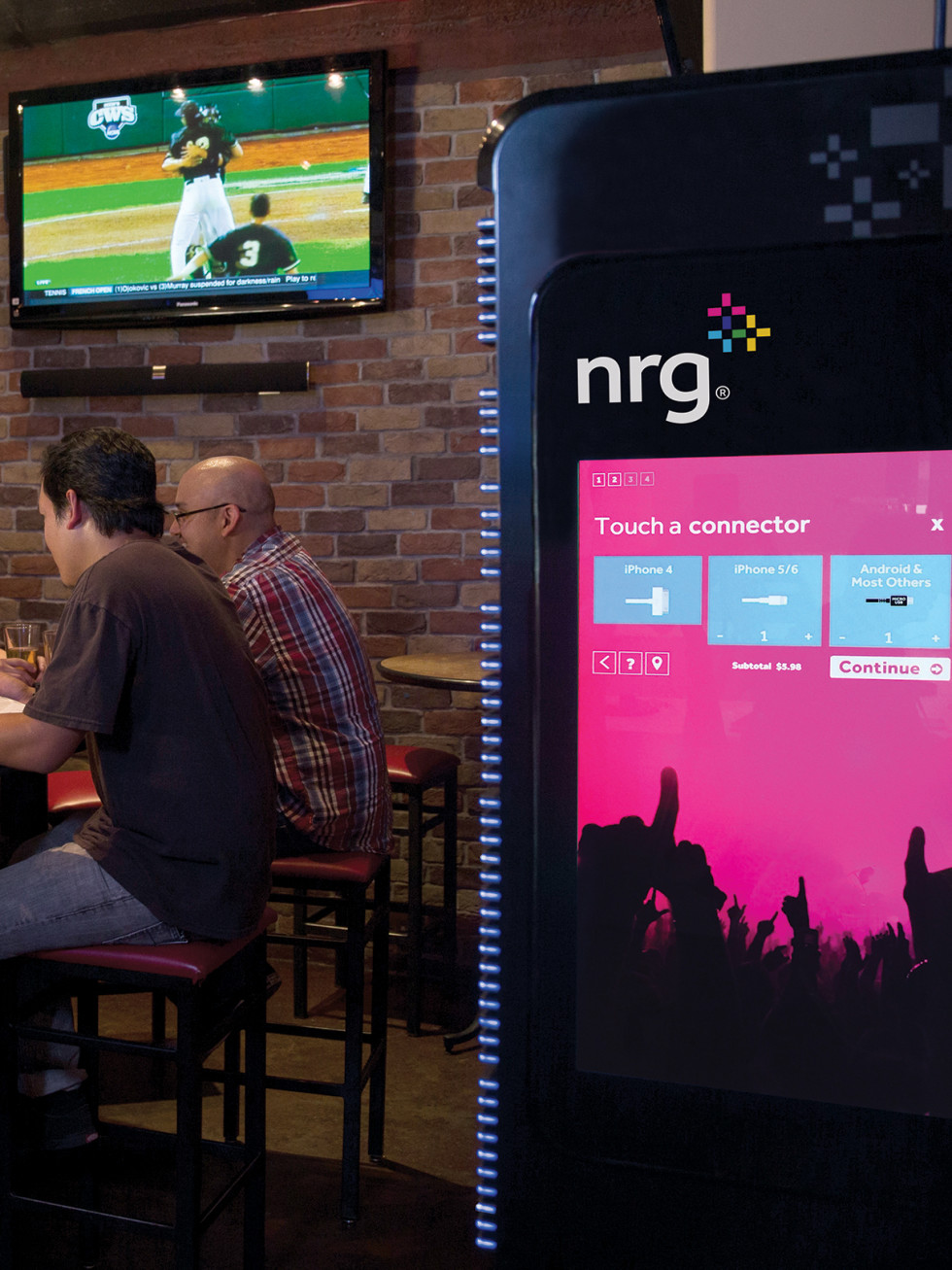 NRG Go Portable Power station at Pub Fiction