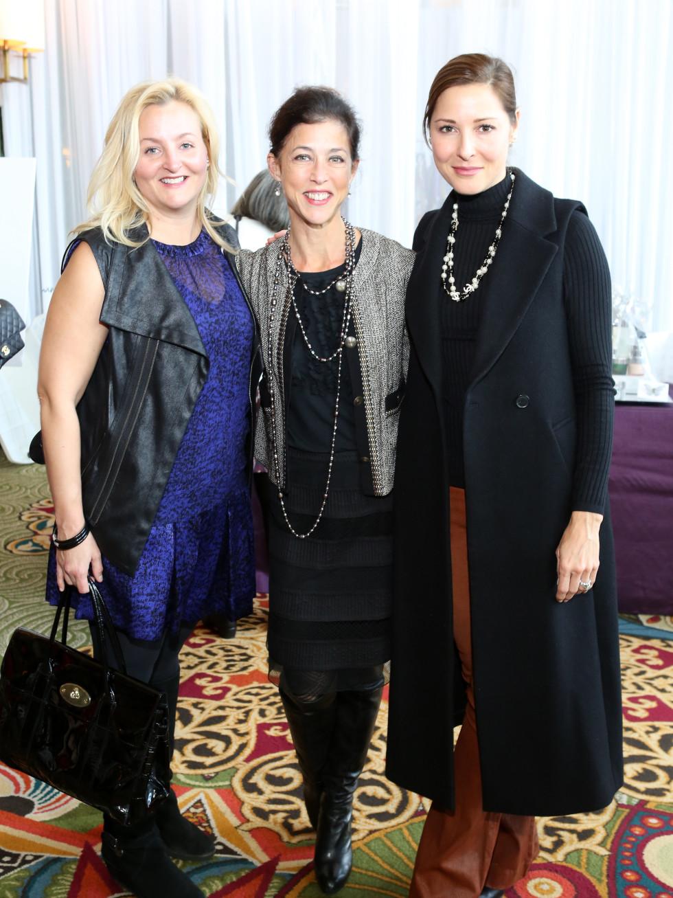 News, Shelby, Child Advocates Angels of Hope luncheon, Dec. 2015, Rebecca Hunt.Judy Farrell.Delores Cavatore.
