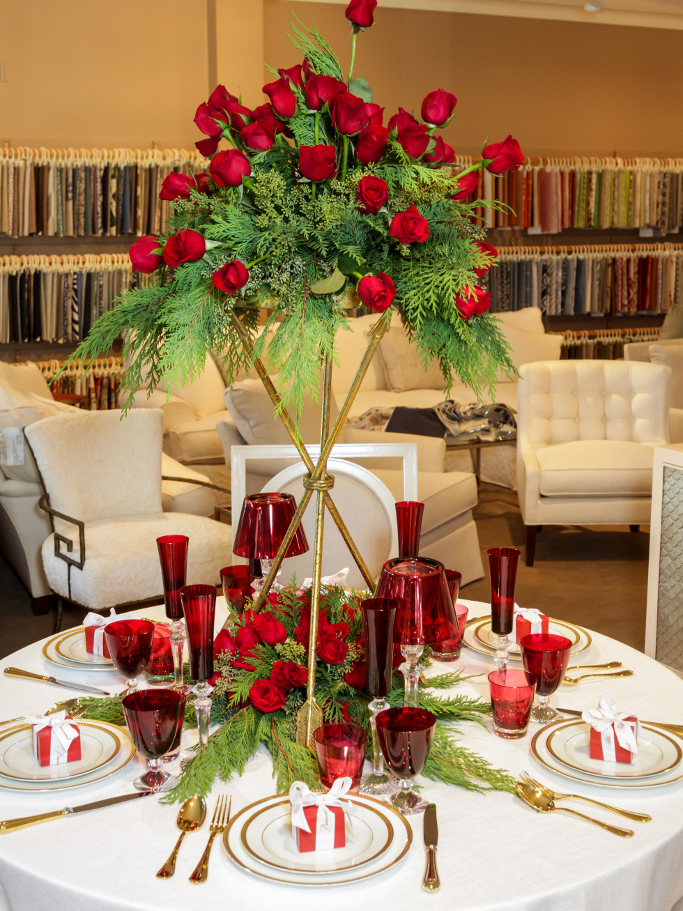 News, Houston Design Center, Deck the Tables, Dec. 2015 Charles Ray & Associates