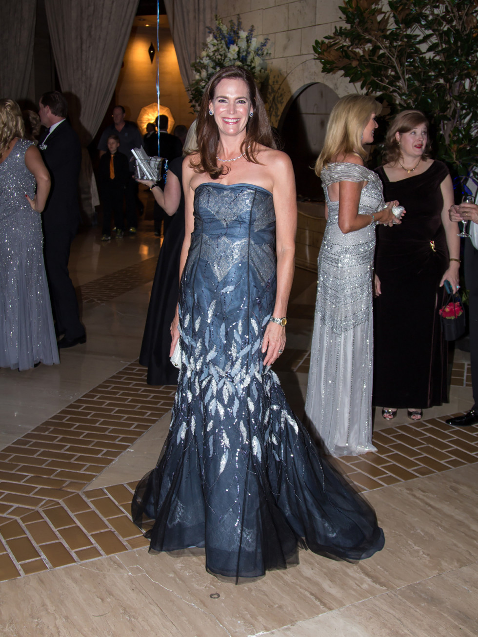 Margaret Hancock in Carolina Herrera