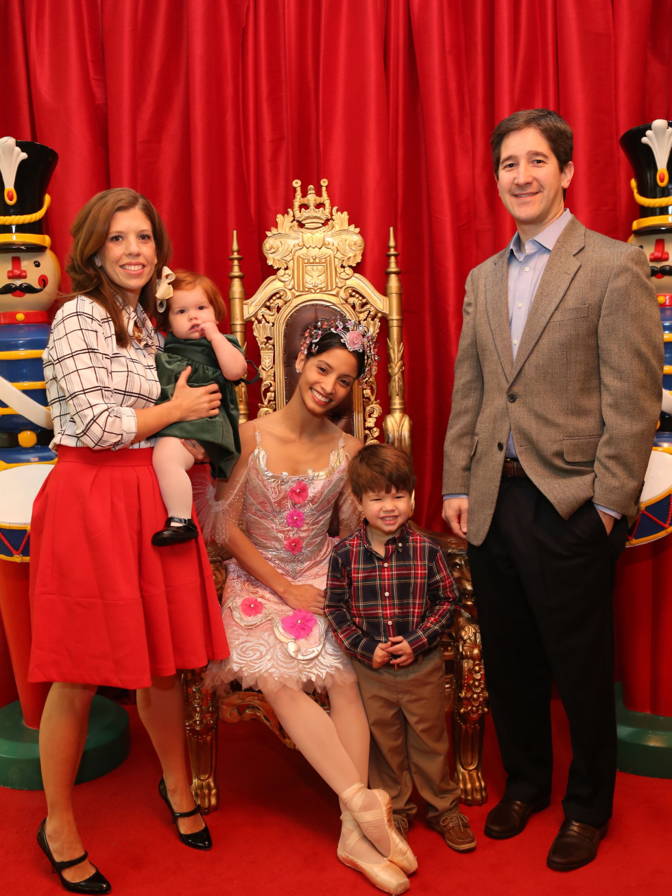 News, Houston Ballet Kingdom of Sweets , Dec. 2015, Sarah High, Lucy High, Hudson, High, Jordan High