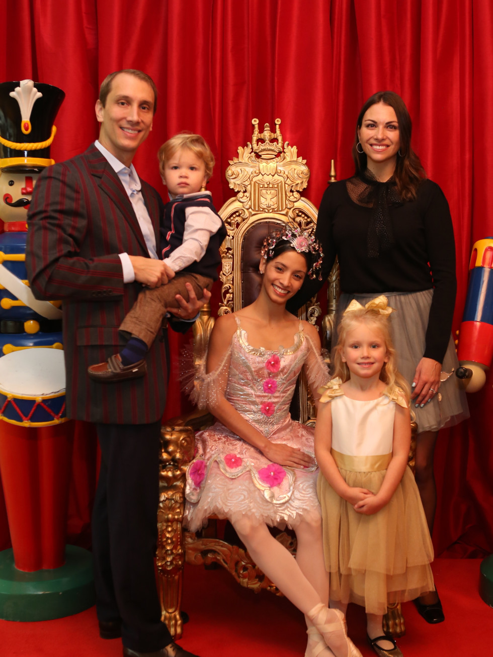 News, Houston Ballet Kingdom of Sweets , Dec. 2015, Nick