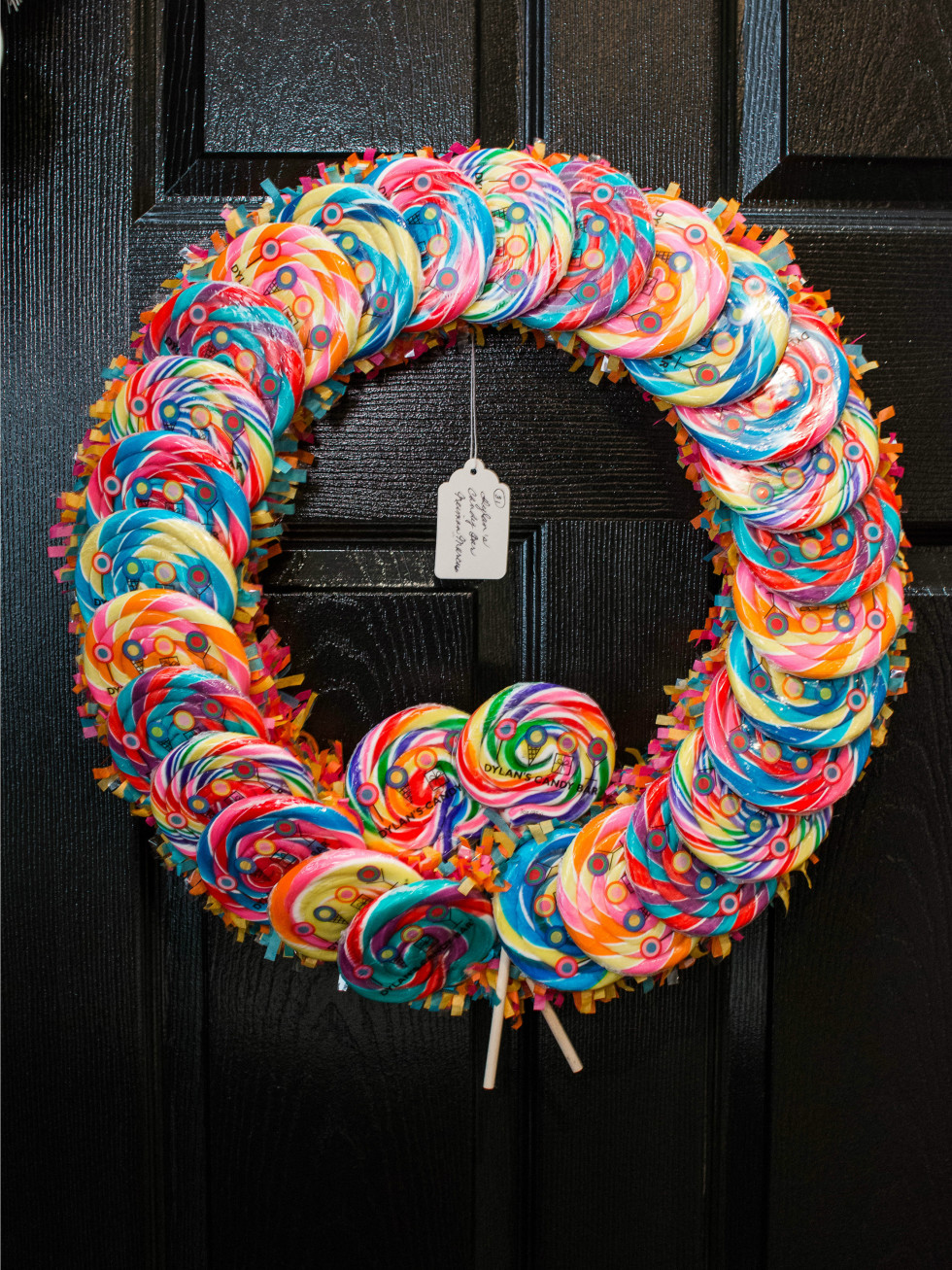 Dylan's Candy Bar Neiman Marcus wreath