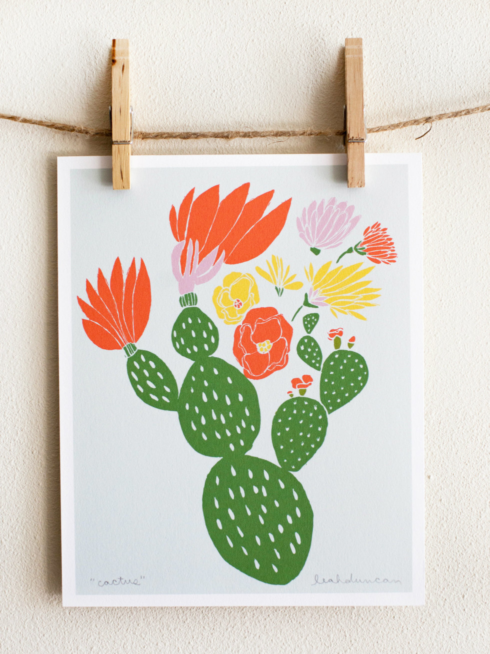Leah Duncan prints at West Elm