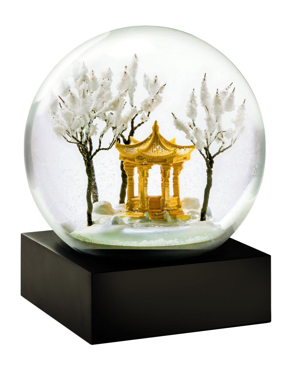 Pagoda snow globe at the Lotus Shop