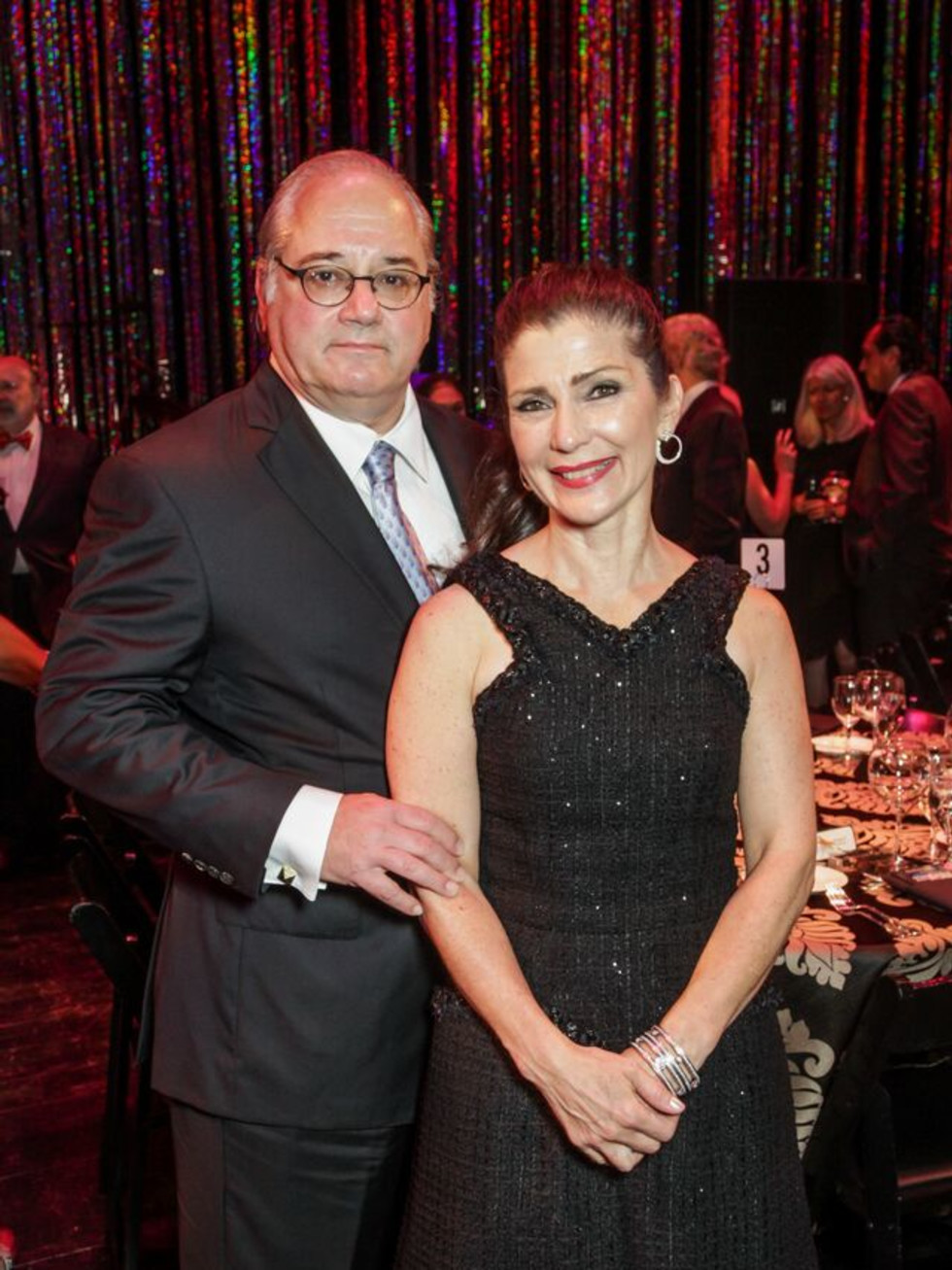 News, Shelby, Miller Outdoor Theatre gala, Oct. 2015, Tony Petrello, Cynthia Petrello