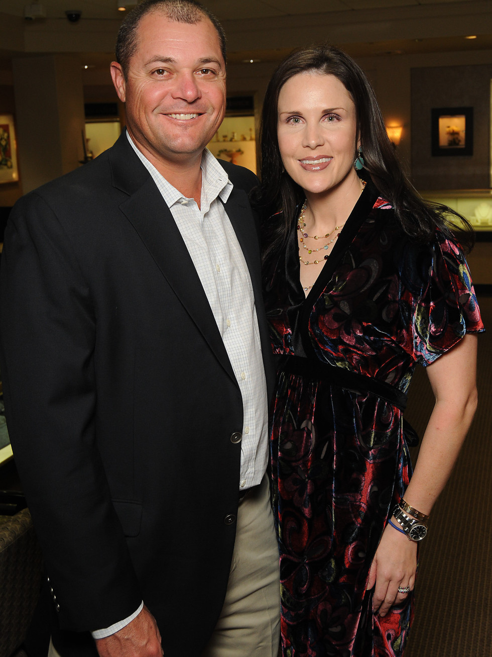 Houston, Project 88 kick-off party, October 2015, Jeff and Kathleen Zinn