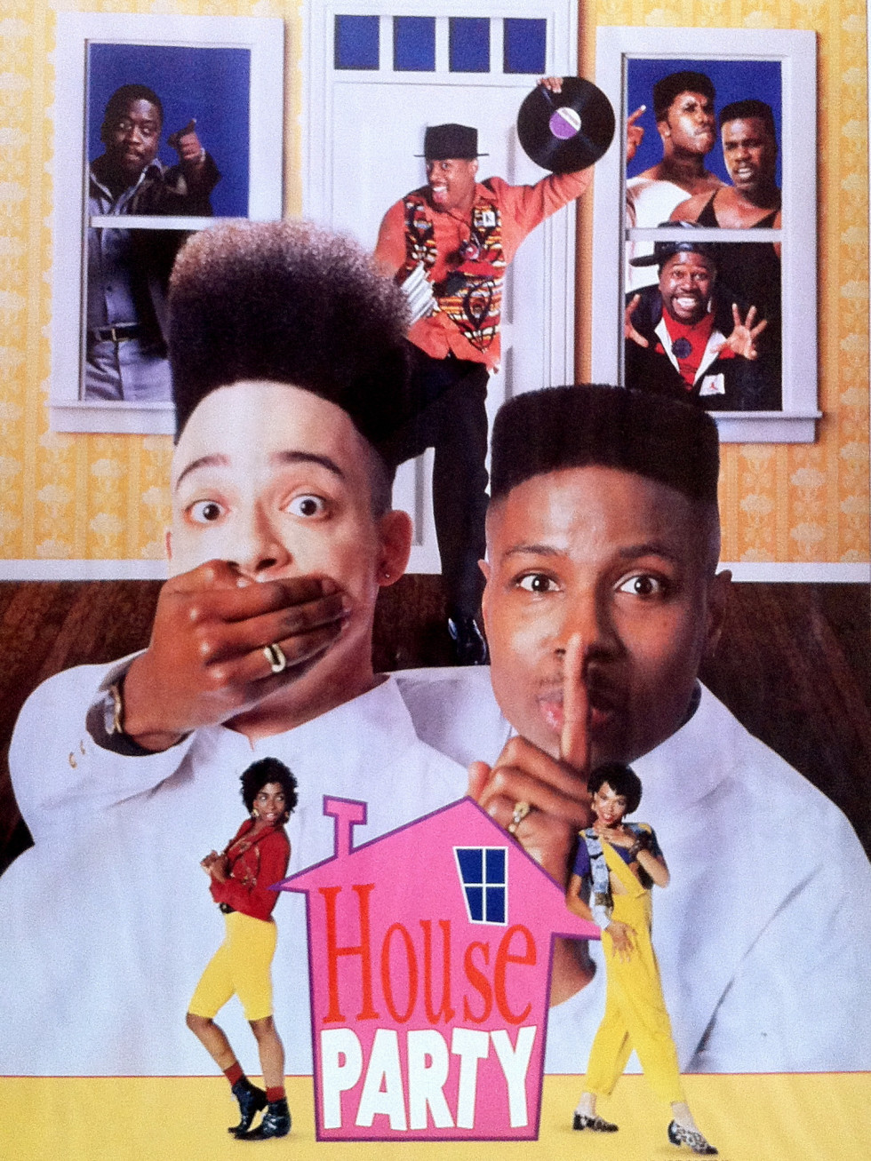 Houston, Houston Cinema Arts Fest 2015, October 2015, House Party movie poster