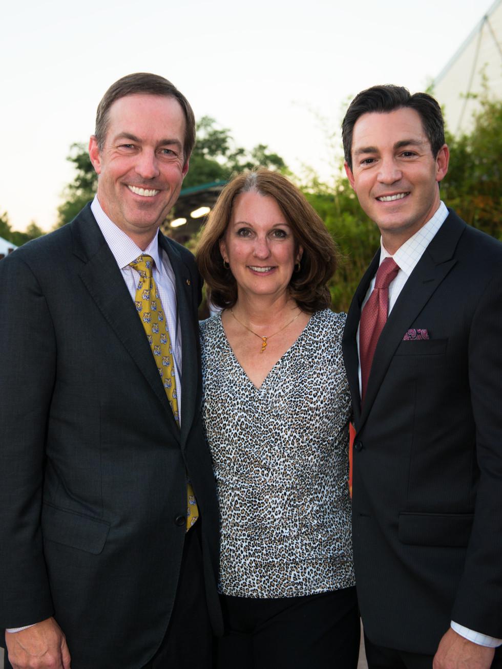 Houston Zoo Conservation Gala 2015 Bruce Niemeyer, Cathy Niemeyer, Andy Cerota