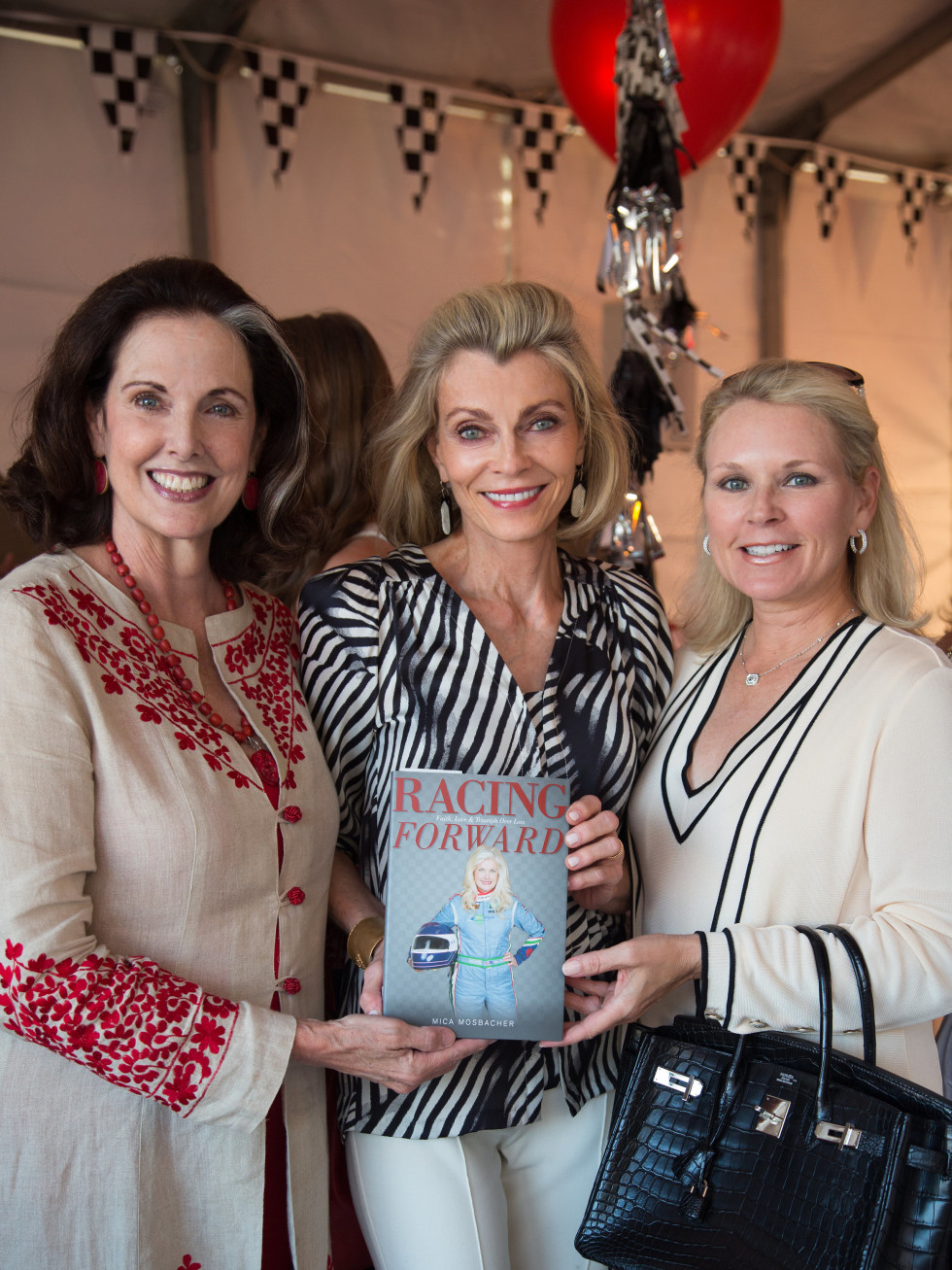 Houston, Mica Mosbacher Racing Forward event, October 2015, Christina Girard, Alice Burguieres, Mindy Hildebrand