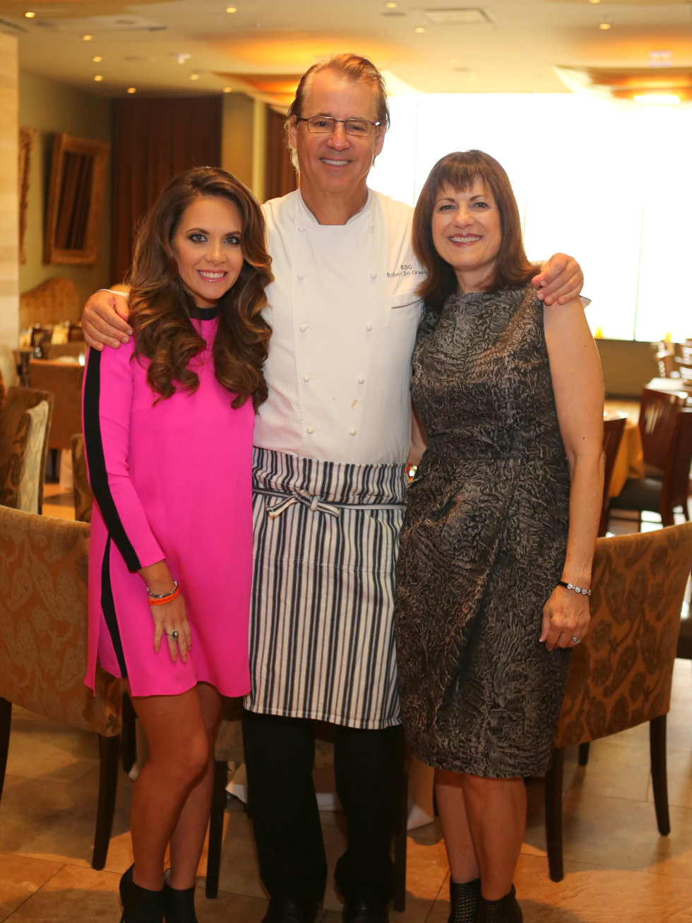News, Shelby, Dec My Room luncheon, Oct. 2015 Joanna Marks, Robert Del Grande, Ellie Francisco