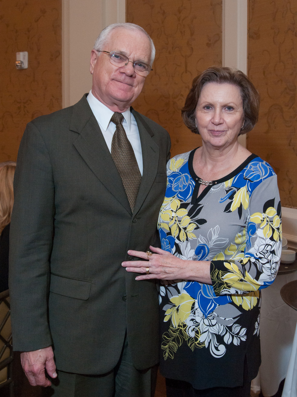Houston, River Oaks Chamber Orchestra Gala, October 2015, Kenneth and Jeannie Griffin