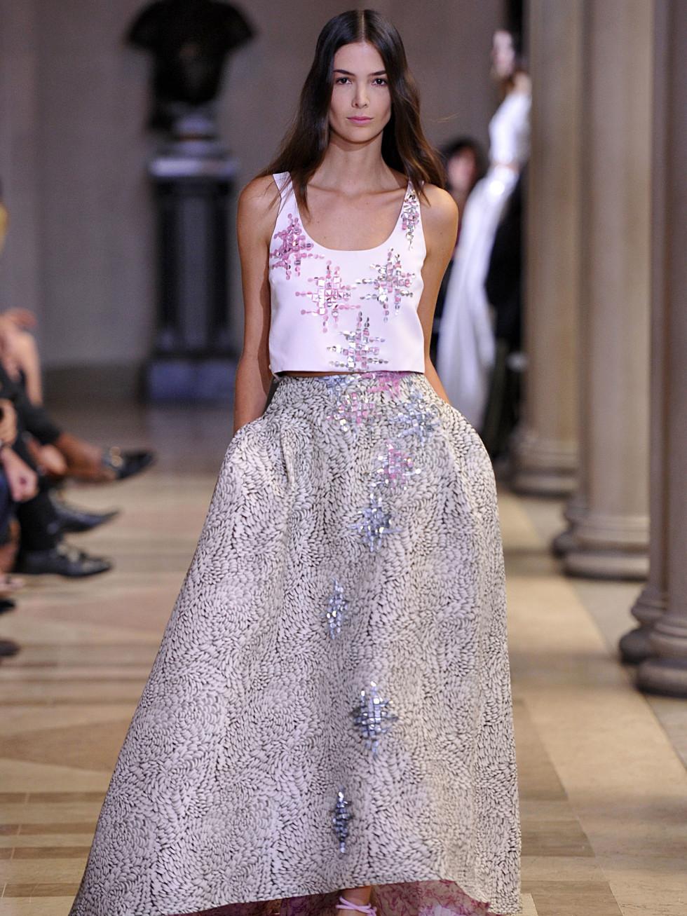Carolina Herrera spring 2016 collection Look 42