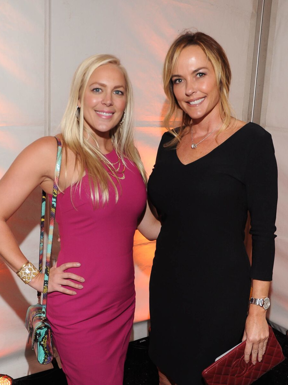 Jenny Price, Rachelle Willis at Elizabeth Anthony Generations of Glamour