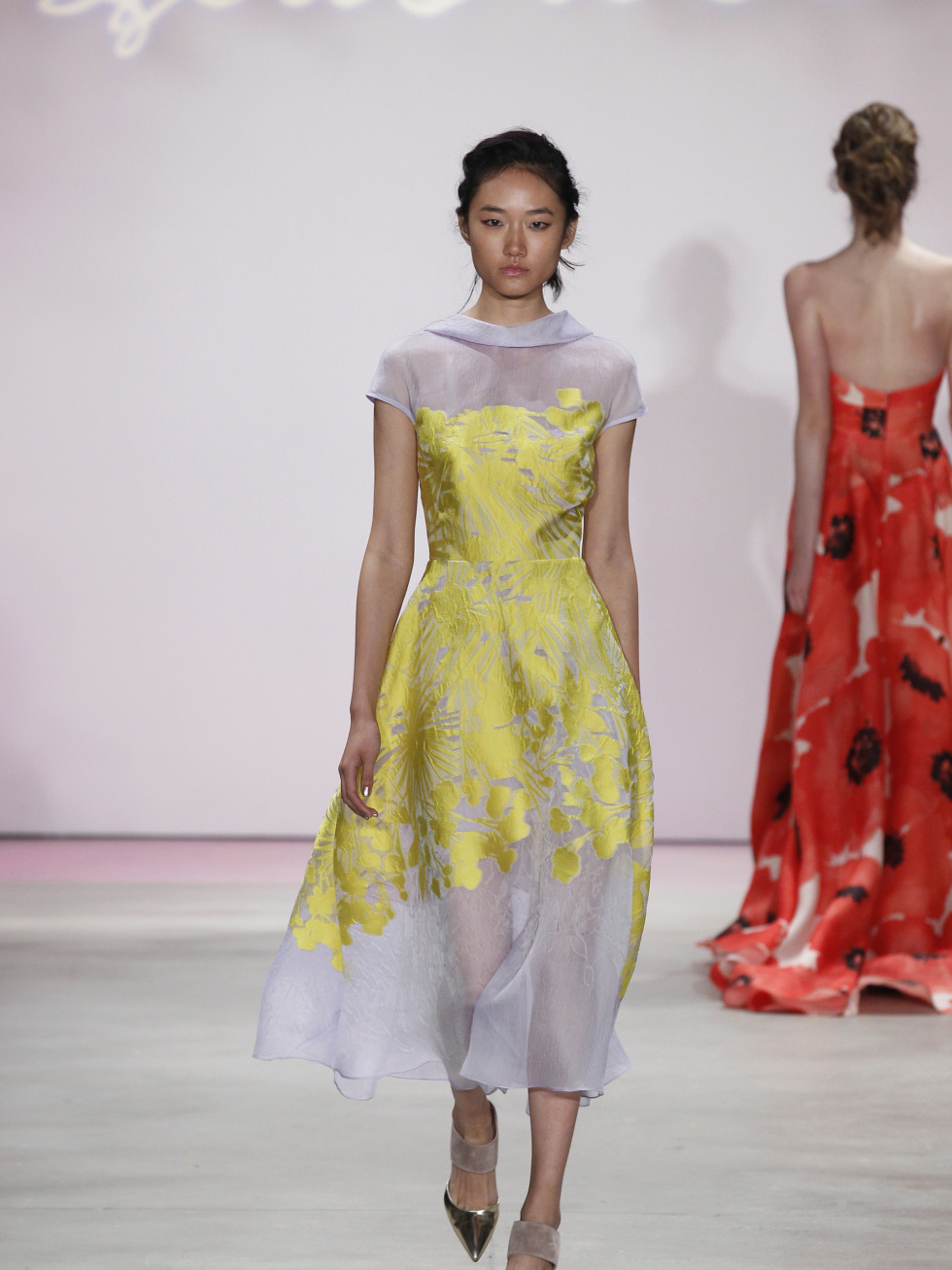 Lela Rose spring 2016 collection Look 35