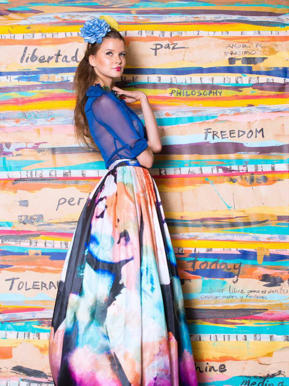 News, Shelby, Pedro Abasolo fashion show, Oct. 2015, Rosita Hurtado design