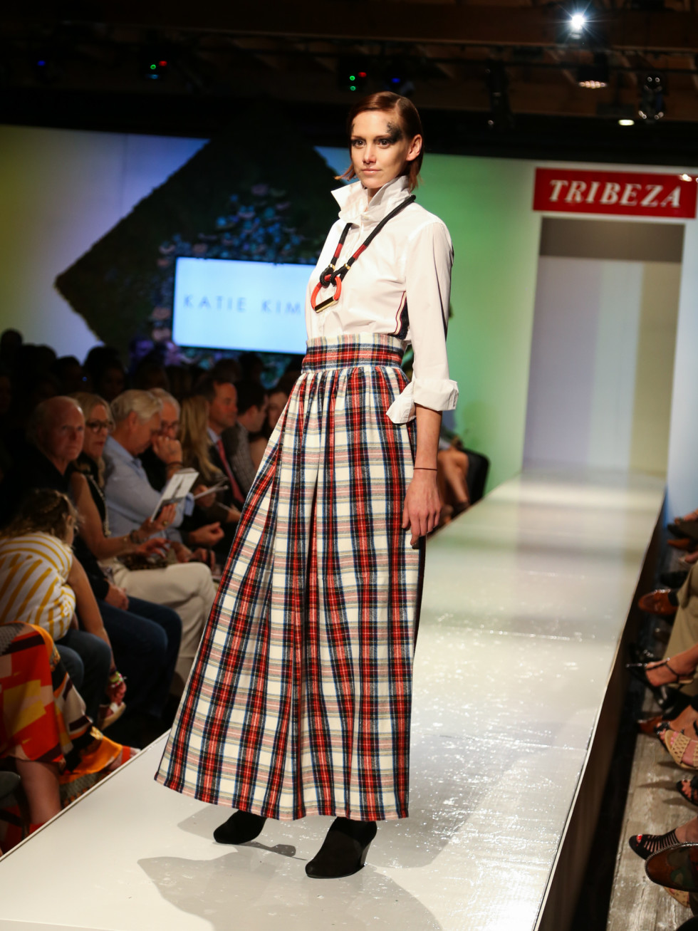 Tribeza Fashion Show 2015 at Brazos Hall Katie Kime