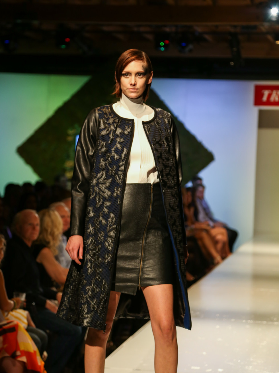 Tribeza Fashion Show 2015 at Brazos Hall Julian Gold