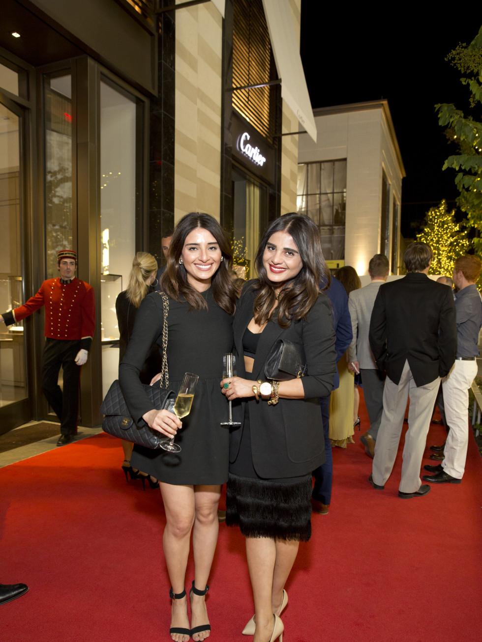 News, Shelby, Cartier opening, Oct. 2015, Sarah Jawda, Saba Jawda