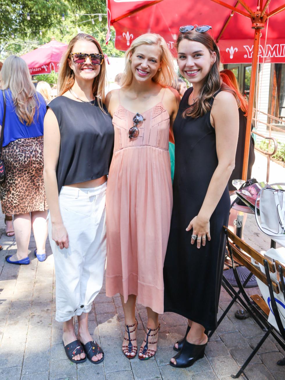 Tribeza Style Brunch 2015 at Justine's Brasserie Allyson Ellis Kim Jones Kate Zimmerman