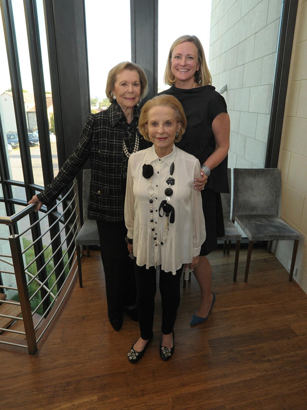 Ruth Altshuler, Jennifer Sampson, Nancy Dedman