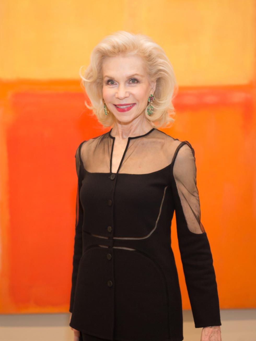 News, Shelby, MFAH Rothko opening, Sept. 2015 Lynn Wyatt