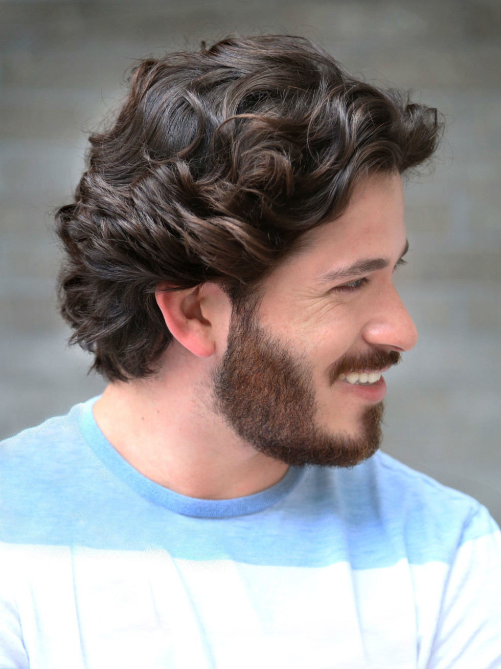 Jose Luis Salon - tousled texture