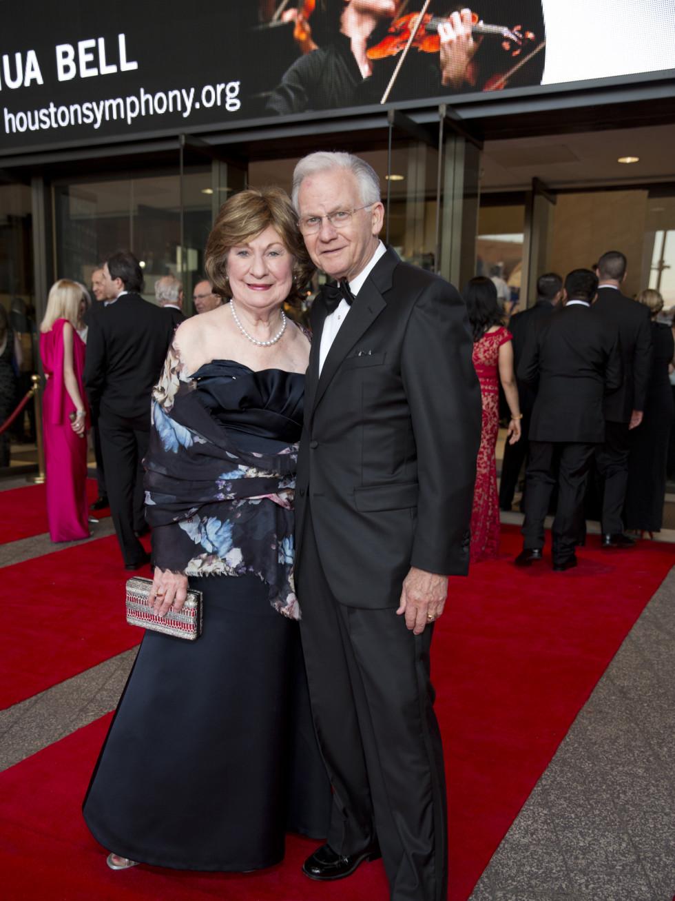 News, Shelby, Houston Symphony Opening Night, Sept. 2015, Cora Sue & Harry Mach
