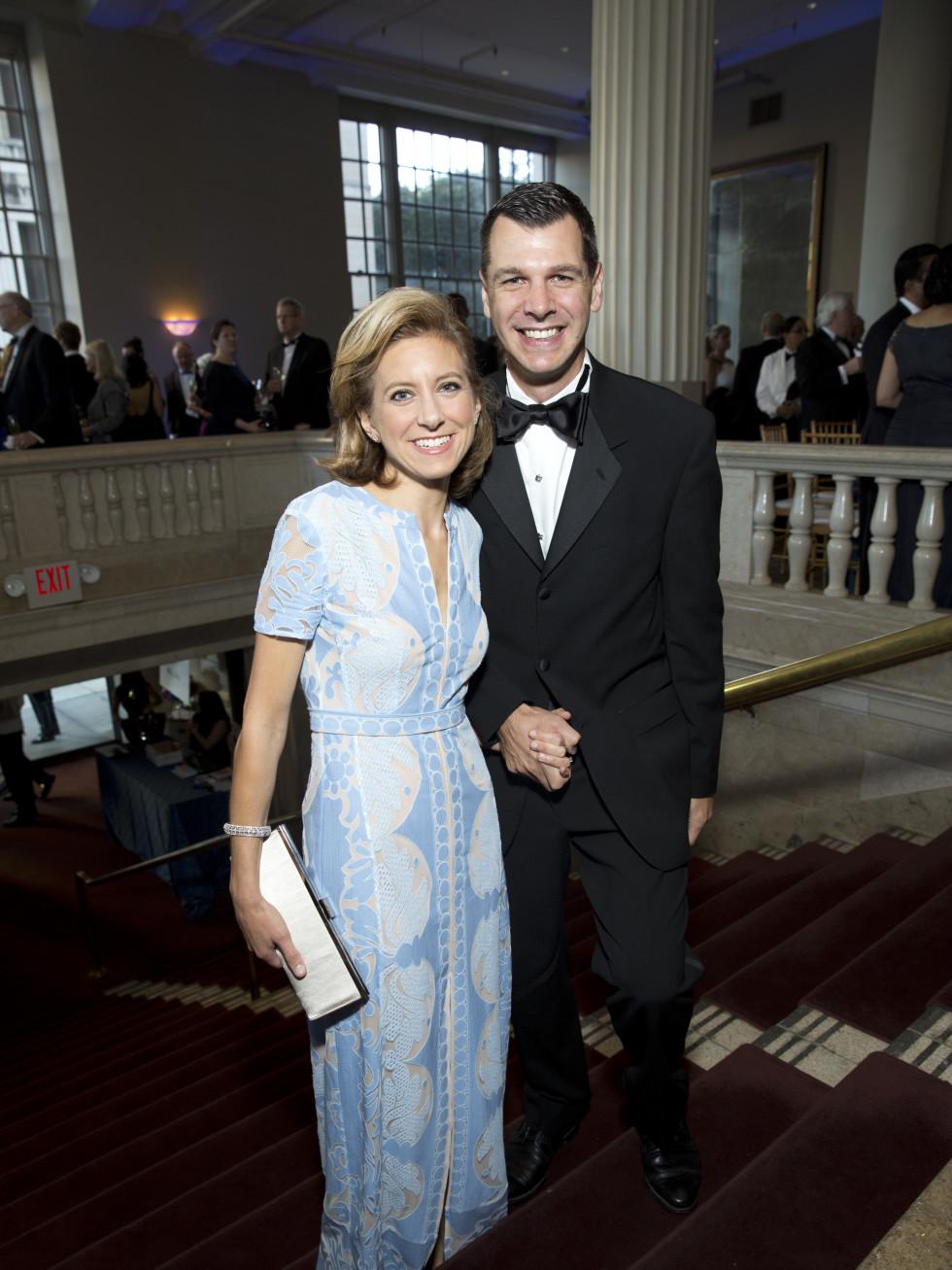 News, Shelby, Houston Symphony Opening Night, Sept. 2015, Christina & Mark Hanson
