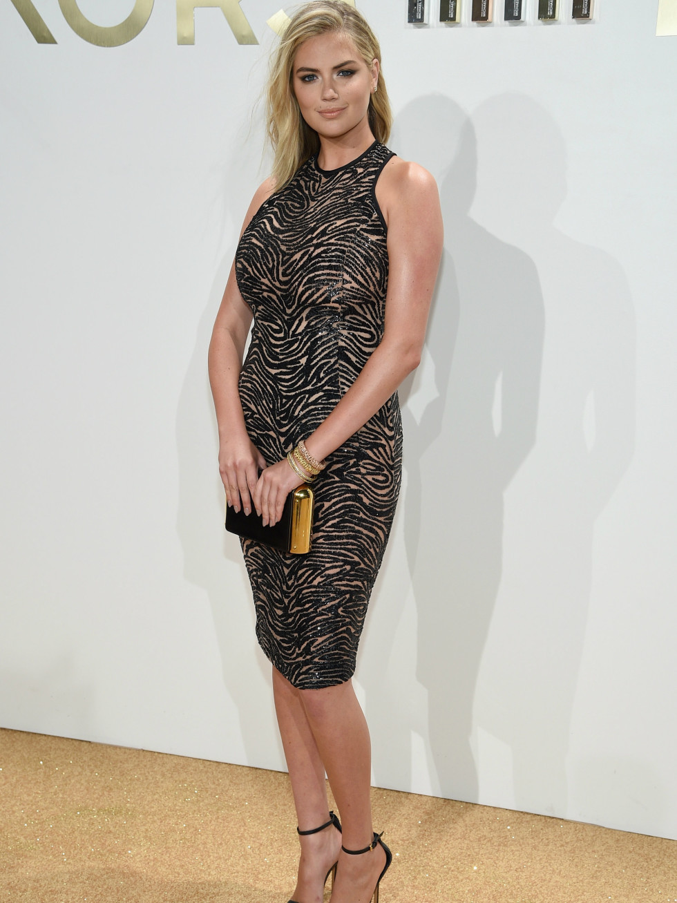 Kate Upton at launch of Michael Kors Gold fragrance