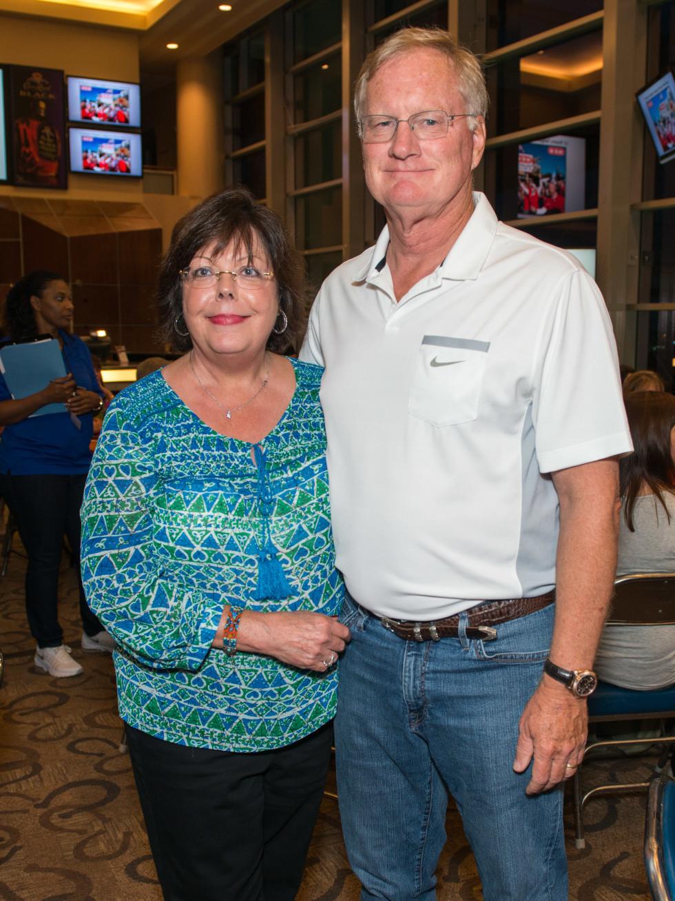 Fantasy Football draft 2015 Melinda and Keith Landsness