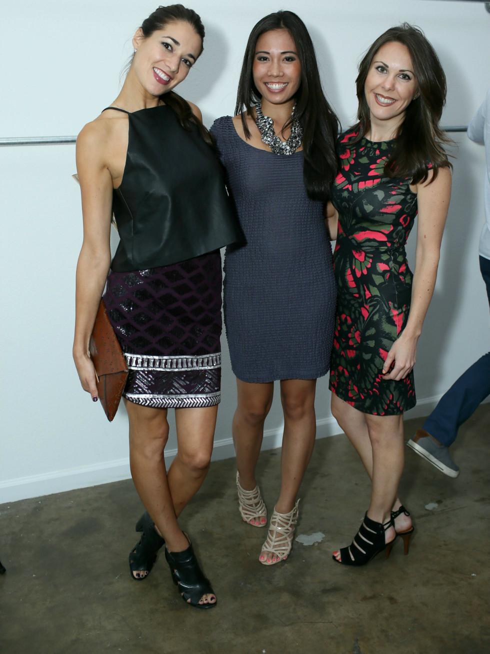Lindsey Rowe, Katrina Balangue, Audry Hardine, FDF Two Year Anniversary