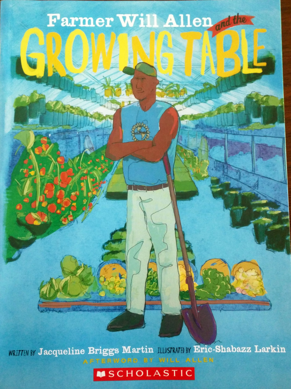 Points of Light conference, book Farmer Will Allen and the Growing Table.