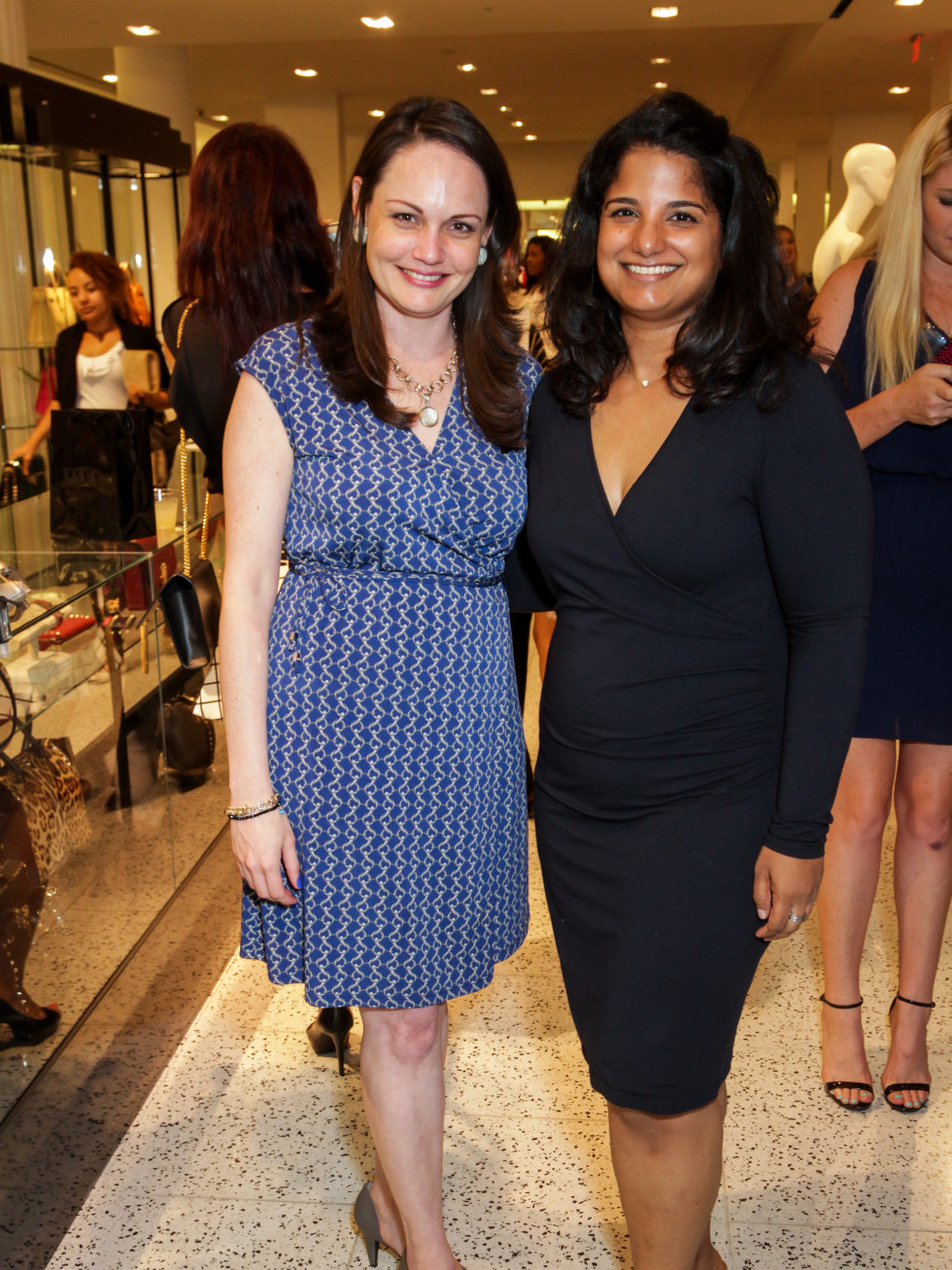 Houston, Ellevate event at Tootsies, August 2015, Remy Norman, Mariam Jacob.
