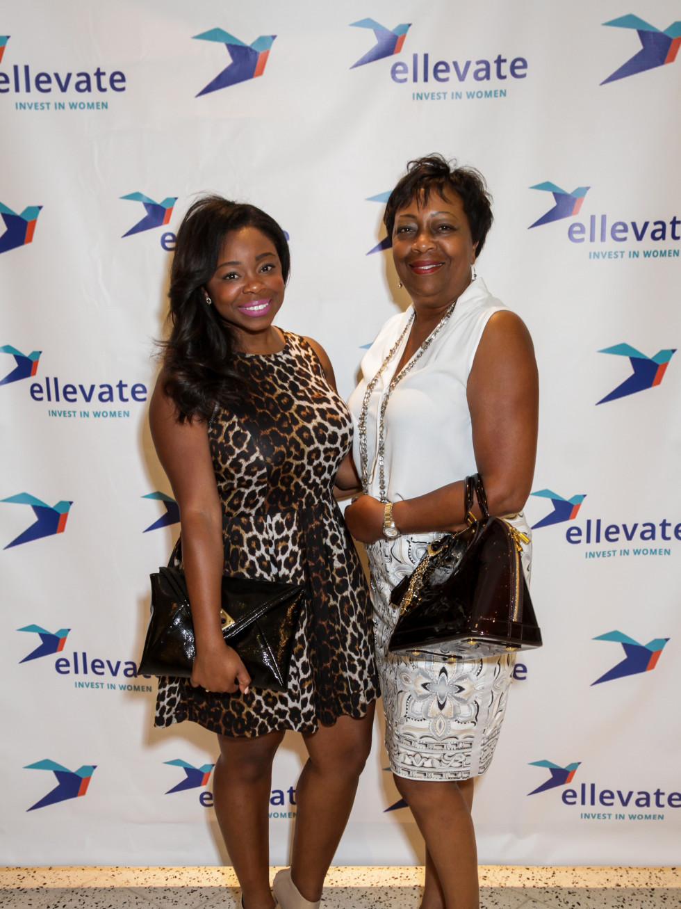 Houston, Ellevate event at Tootsies, August 2015, Kelly Cowthran, Sandra Cowthran