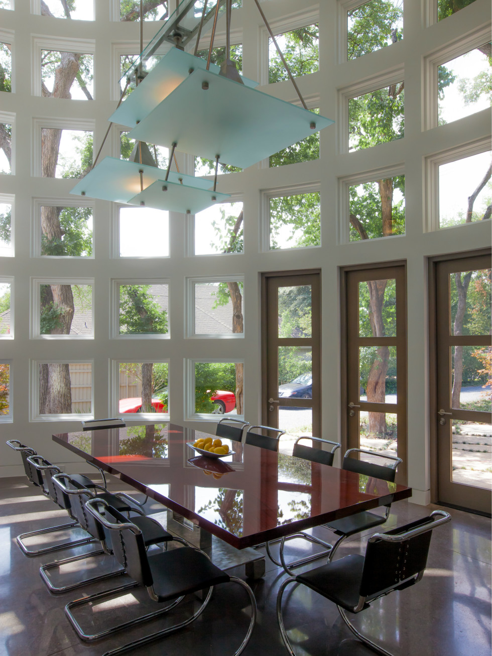 Dining room designed by Key Residential in Dallas
